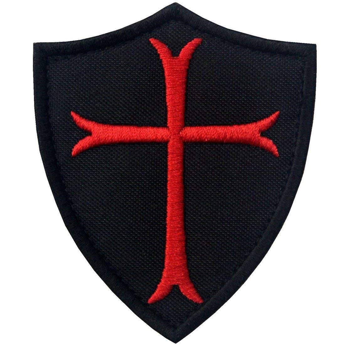 Caballeros Templarios Escudo cruzado Militar