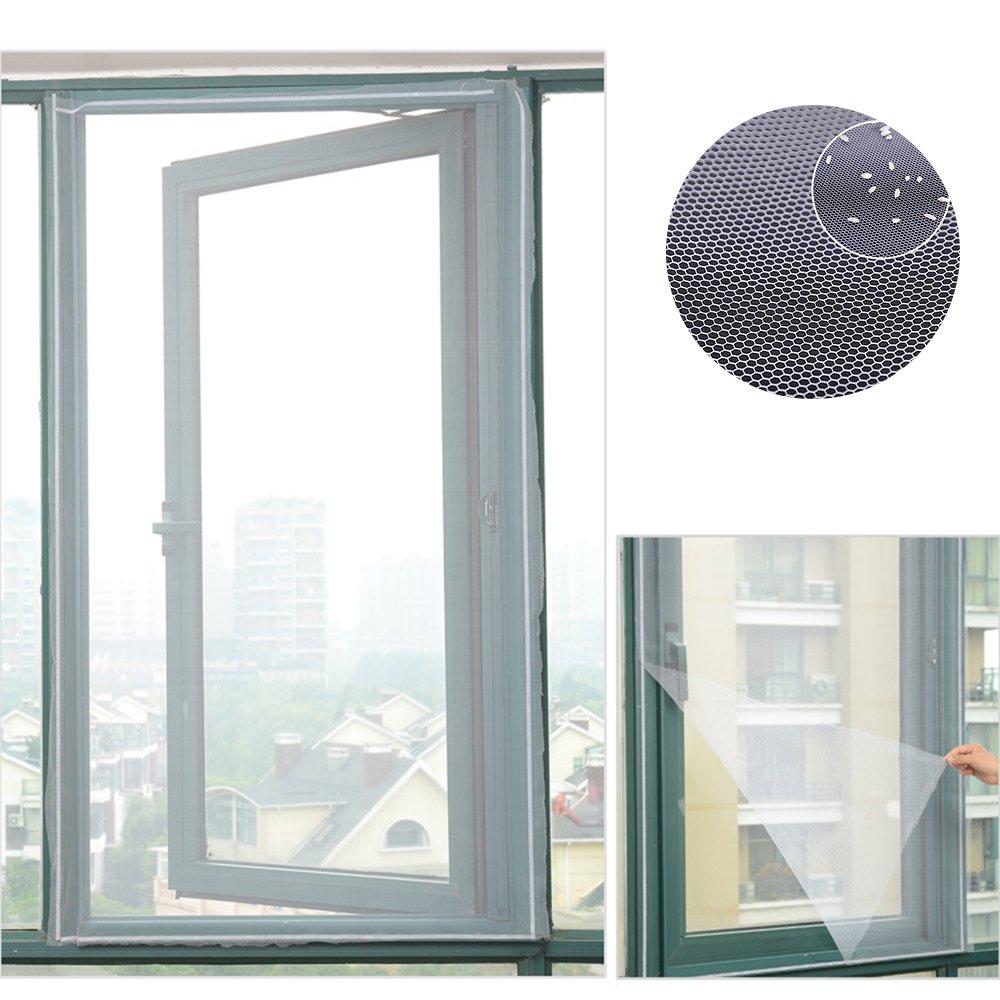 Mosquitera magnética para ventana, mosquitera Invisible