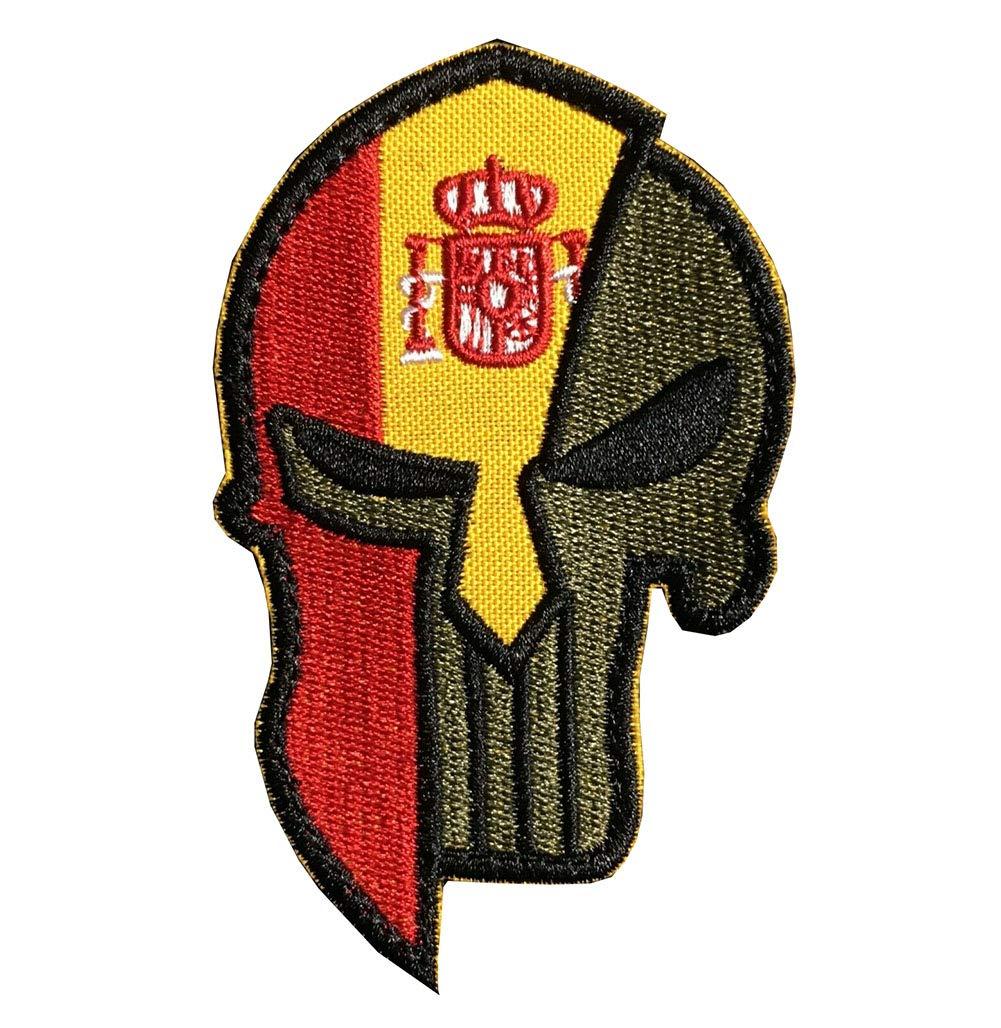 Parche bordado con diseño de bandera nacional
